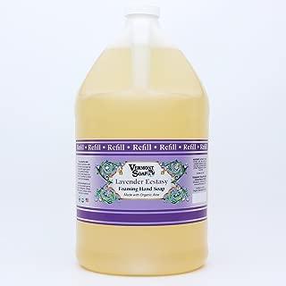 Vermont Soap Organics - Lavender Ecstasy Foaming Hand Soap Gallon Refill