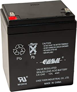 Casil CA1240 Genuine 12V 4Ah SLA Alarm Battery