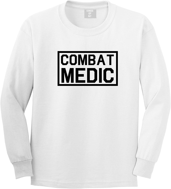 03dafdc44ad4ce Kings Of NY Combat Medic Medic Medic Long Sleeve T-Shirt 72f8d1 ...