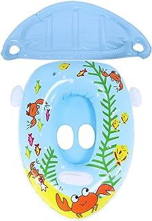 Idalinya Niedlichen Cartoon Tier Hund Form Baby Schwimmring K inder Aufblasbare Schwimmring Boot Mit Pumpe