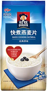 ???QUAKER????? ???? ?? ?? ??? 1000g?????????? QUAKER Breakfast Cereal Dietary Fiber Quick-boiled Quick-cooked Oatmeal 1000g (Random Delivery of Old and New Packages)