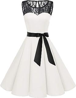 f634c7057f4218 Amazon.fr : Ecru - Robes / Femme : Vêtements