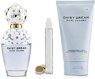 Marc Jacobs Daisy Dream Coffret: Eau De Toilette Spray 100ml + Luminous Body Lotion 150ml + Eau De Toilette Rollerball 10ml 3pcs