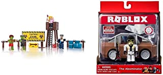 Roblox Action Collection - Zombie Attack Playset [Includes Exclusive Virtual Item] & Action Collection - The Abominator Ve...