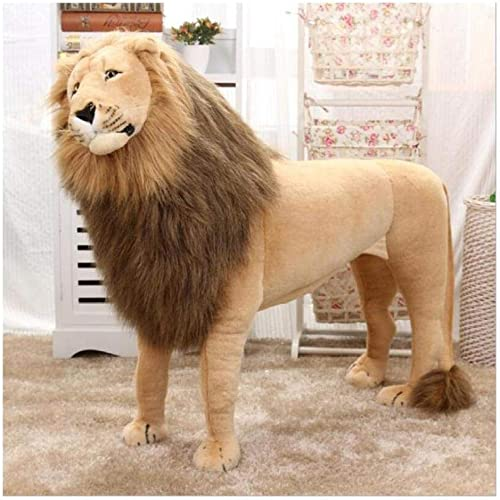 mejor reputación FairOnly - Peluche de león de de de imitación de 85 cm de tamaño Grande  costo real