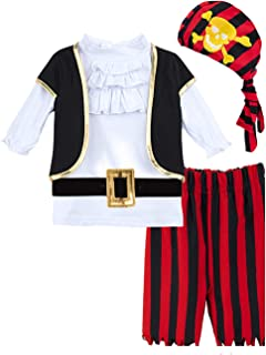 Boys' Halloween Costume Pirate Outfits