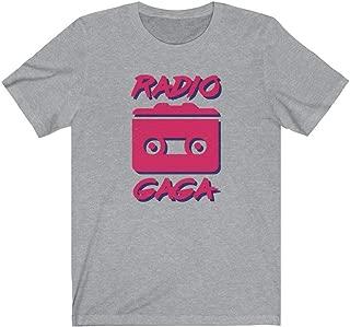 Retro Queen Style Radio Ga Ga Classic Band T-Shirt 80s Edition
