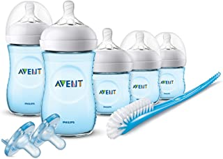 Sponsored Ad - Philips Avent Natural Baby Bottle Blue Gift Set, SCD206/12