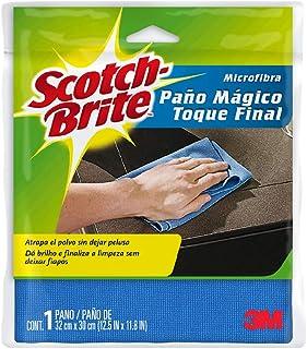 Scotch-Brite Microfiber Dusting Cloth, 1 Sheet
