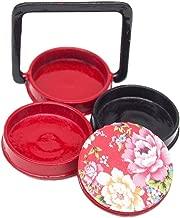 Odoria 1/12 Miniatura 3 Niveles Caja de Almuerzo Bento japonés Cocina Accesorio para Casa de Muñecas