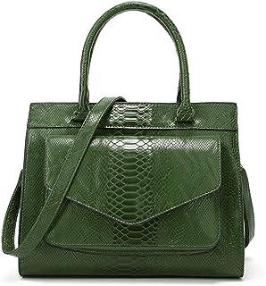 Shoulder Bag Hobos & Shoulder Bags Totes Women's Bag Crocodile Fashion Handbag Shoulder Messenger Bag Handbag Clutch (Color : Green)