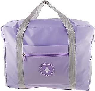 Lovoski Women Ladies Weekender Bag Overnight Carry-on Tote Duffel In Trolley Handle