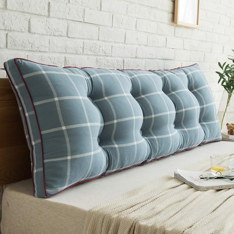 入る誤解本気2J-QingYun Trade ベッドバック、長枕のダブルクッション、読書枕とベッド枕、内務省ウエストレスト、取り外し可能な洗濯、5色 (Color : C, サイズ : 90CM)