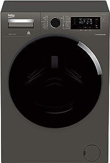 Beko 1400 RPM 16 Programs Washing Machine, Manhattan Gray, 9 Kg, WTV9745XM