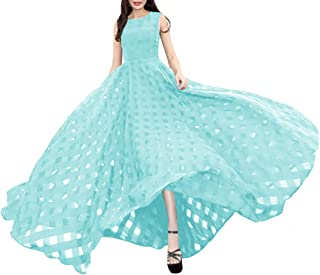 فستان شاطئ نحيف للنساء من Afibi فساتين طويلة ماكسي كاجوال