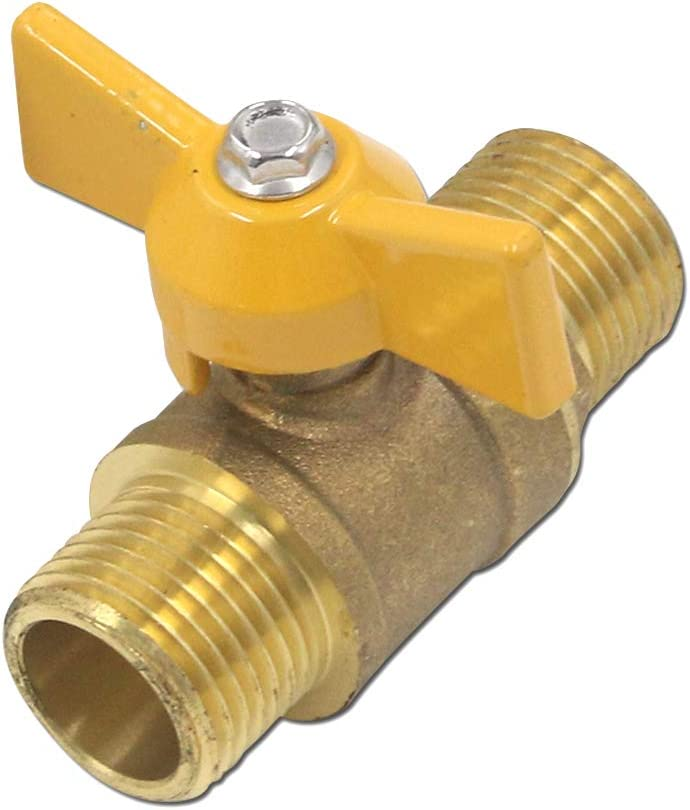 T Animer and price revision Tulead Brass Ball Valve Male Gas Mini x free