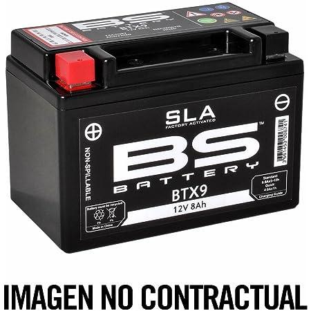 Bs Battery 300670 Btx5l Agm Sla Motorrad Batterie Schwarz Auto