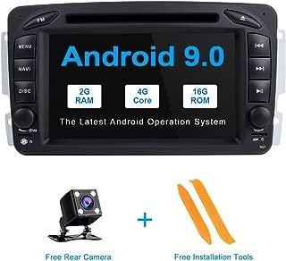 TOOPAI Android 9.0 Autoradio for Mercedes Benz W209 W203 W168 W163 W463 Viano W639 Vito Vaneo 1998-2006 Audio GPS Navi Support Full RCA Output WiFi SWC