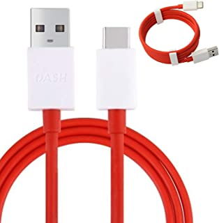 Genuine One Plus Dash Type-C 1M Fast USB Data Charger Lead Cable for One Plus 3 3T 5 6 (No Retail Packaging)