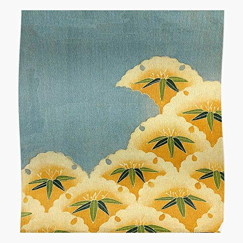 Lancave9s Garden Old Japanese Water Lily Japan Flower Traditional The most impressive and stylish indoor decoration poster available trending now