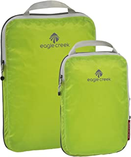 Travel Gear Luggage Pack-it Specter Compression Cube Set, Strobe Green