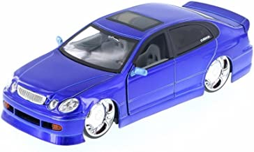 Jada Lexus GS430, Blue 50759FF - 1/24 Scale Diecast Model Toy Car but NO Box
