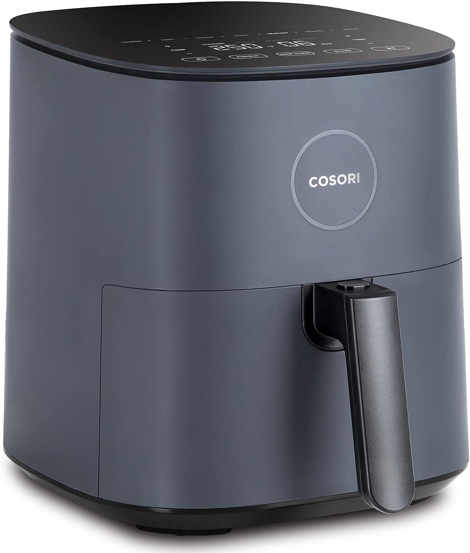 COSORI Freidora sin Aceite 4,7L, Freidora Aire Caliente con 7 Programas, Air Fryer con 100 Recetas, Pantalla LED Táctil, Función Mantener Caliente