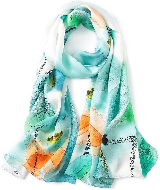 Maerye Autumn and Winter Silk Scarf Handmade Fashion Lady Shawl 170  52cm