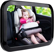 Zacro Baby Car Mirror, Shatter-Proof Acrylic Baby Mirror for Car, Rearview Baby..