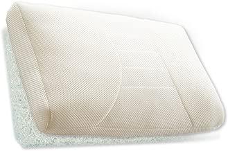 まくら 枕 肩こり 洗える マクラ ピロー ビーズ パイプ 寝具 安眠 高反発 メッシュ エアーマット Air impact アイボリー