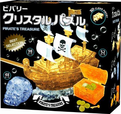 Cristal Puzzle Pirates tr?sor Gift Set 50174 (japan import)