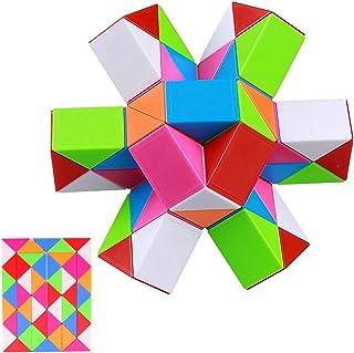 iLink Magic Snake Cube Puzzle-48 Blocks Serpente magico Cubo Puzzle-Giocattoli del serpente di -Bomboniere per feste di co...