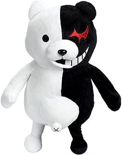 25cm Dangan Ronpa Super Danganronpa 2 Mono Kuma Black&White Bear Plush Doll Toy by HiRudolph