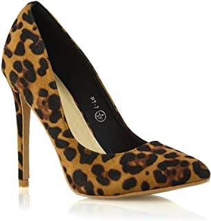 Womens Classic Fashion Stiletto Pointed Toe High Heel Party Dress Pumps Shoes