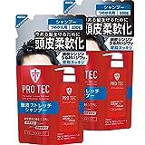 【まとめ買い】PRO TEC(プロテク) 頭皮ストレッチ シャンプー 詰め替え 230g×2個パック(医薬部外品)