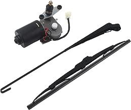 MODIFY-GT UTV Electric Windshield Wiper Motor Kit 12V for Polaris Ranger RZR 800 XP 900,90 Degree Angle
