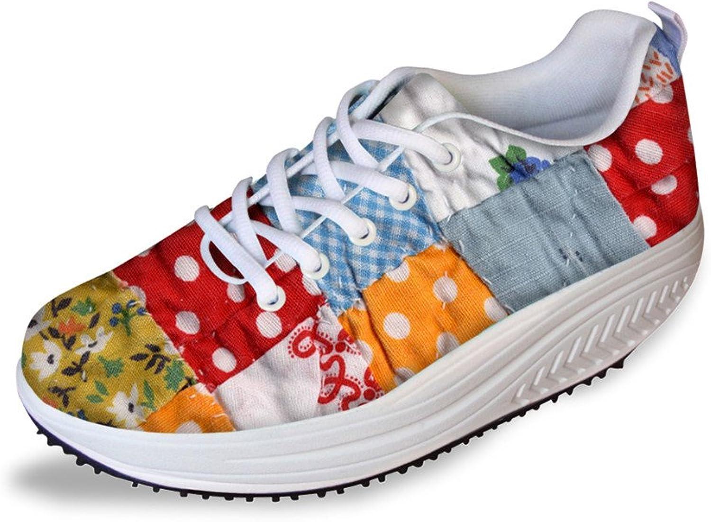 Chaqlin Womens Slimming Swing Smart shoes Ultraligh Running Sport Sneaker Size 41