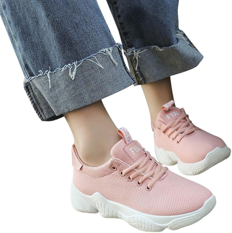 Fheaven (TM) Women Fashion Sneakers shoes Casual Lace Up Comfortable Soles Platform Sports shoes
