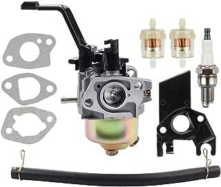 Leopop 196CC 6.5HP Carburetor for DuroMax PowerMax XP3500 XP4400 MX4500 MX4500E XP4400-CA XP4400E XP4400E-CA Gasoline Generator 200CC Engine