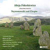 Celebrity Recital [Alicja Fiderkiewicz] [Divine Art: DDV24160] by Alicja Fiderkiewicz