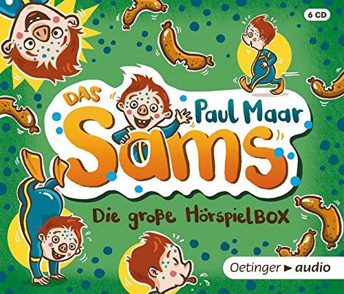 Das Sams. Die große Sams Hörspielbox (6 CD): Hörspiele, 314 Min.