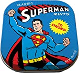 The Unemployed Philosophers Guild Superman Mints - 1 Small Tin 1.75 x 1.75 - DC Comics Licensed