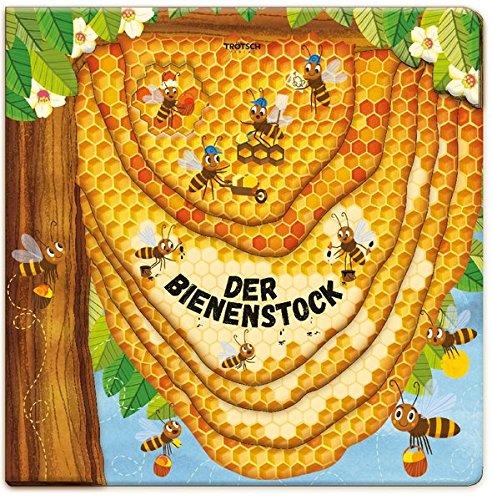 Trötsch Fensterbuch Der Bienenstock: Entdeckerbuch Beschäftigungsbuch Spielbuch (Erstes Wissen)