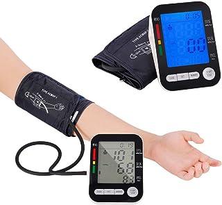 Fall Monitor de Tensión Arterial, Máquinas de presión Arterial del Brazo Superior con una Gran Pantalla LED de visualización y Puño, 2 Usuarios Modo