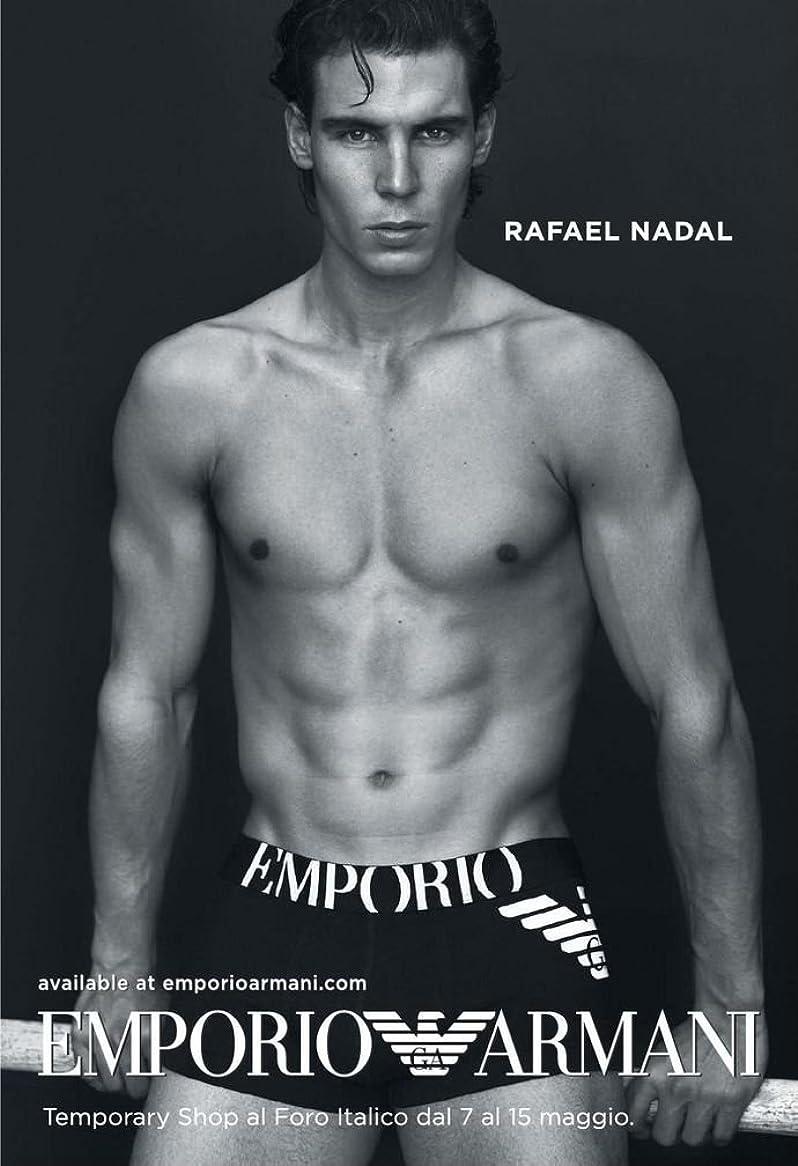 まだ送るのぞき見XXWアートワークRafael NadalポスターTennis Player/The Matador/Rafa Prints壁装飾壁紙 14x20 inch