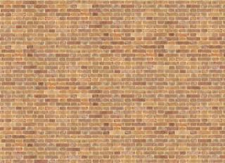 Melody Jane Dollhouse Old Red Brick Paper Miniature Print Exterior Wallpaper 1:12 Scale