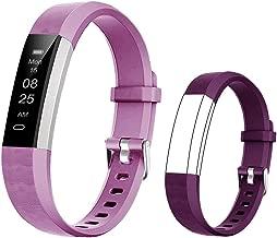 BIGGERFIVE Fitness Tracker Watch for Kids Girls Boys Teens, Activity Tracker, Pedometer, Calorie Counter, Sleep Monitor, Vibrating Alarm Clock,IP67 Waterproof Step Counter Watch