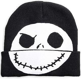 Nightmare Before Christmas Jack Skellington Flip-Down Beanie Hat