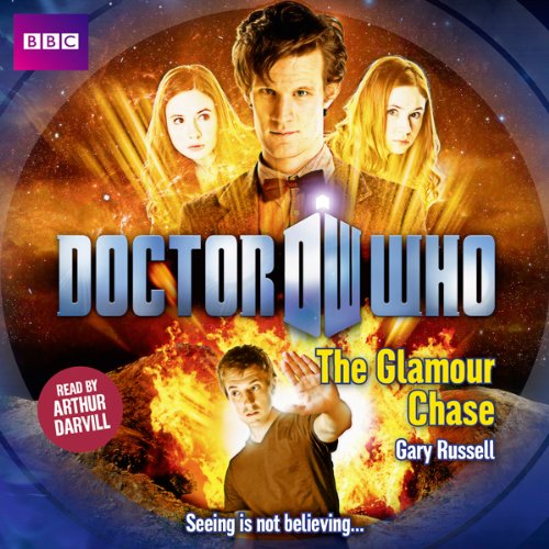 Doctor Who: The Glamour Chase audiobook cover art