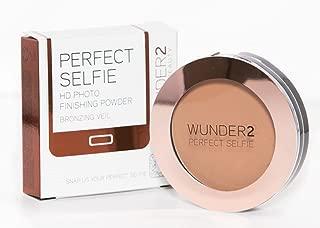 WUNDER2 Perfect Selfie HD Photo Finishing Powder, Bronzing Veil, 0.24 Ounce